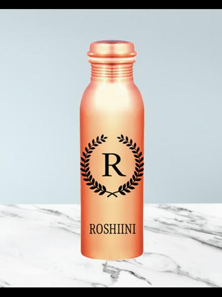 Personalized Copper Bottle-Anniv018-1Litre