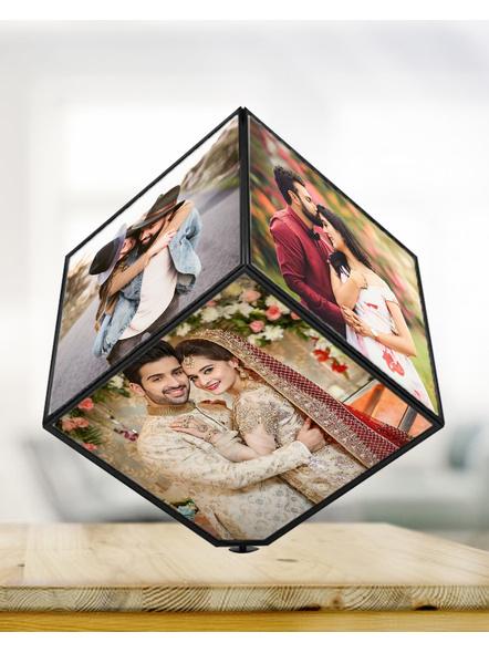 LED 360 Rotating Cube-RKSHFRM010-5-5