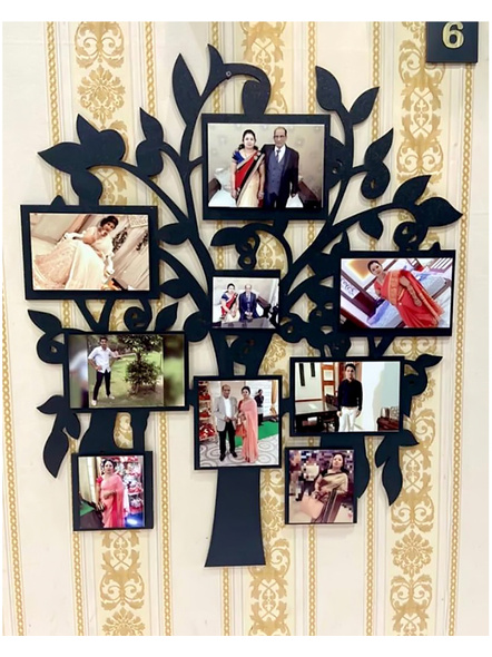 Anniversary Tree Frame with 8 Photos-Anniv073-12-15