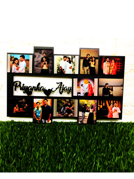 Personalized Name Frame Photos-Anniv065-10-15