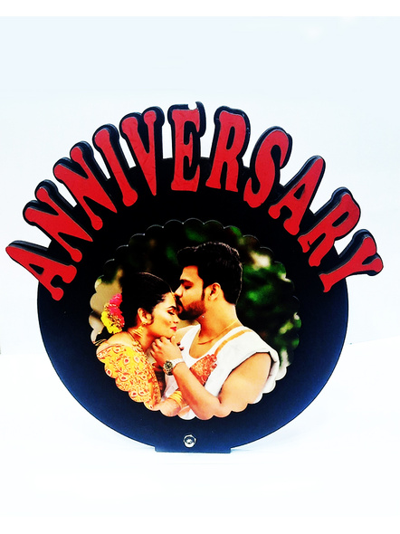 Personalized Anniversary Table Stand-Anniv023-7-7
