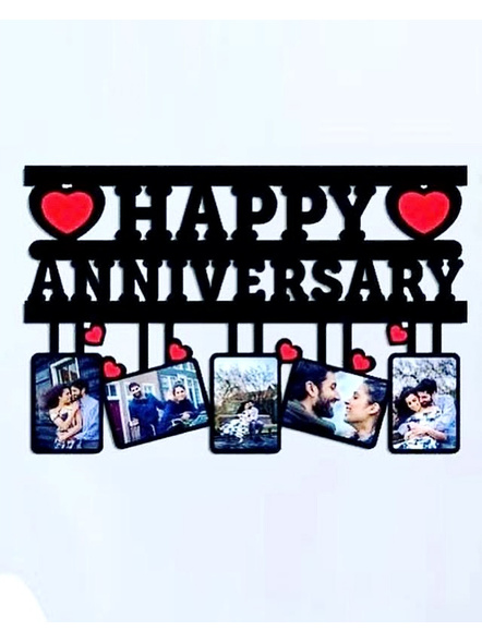 Personalized Anniversary Wooden Frame 5 Photos-Anniv026-12-18