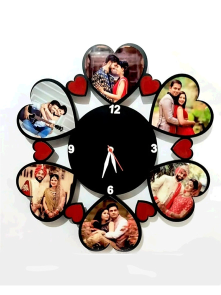 Clock Collage for Friendship Day 6 Photos-Frndfrm022-18-18