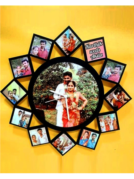 Designer Clock Collage for Friendship Day 13 Photos-Frndfrm024-14-14