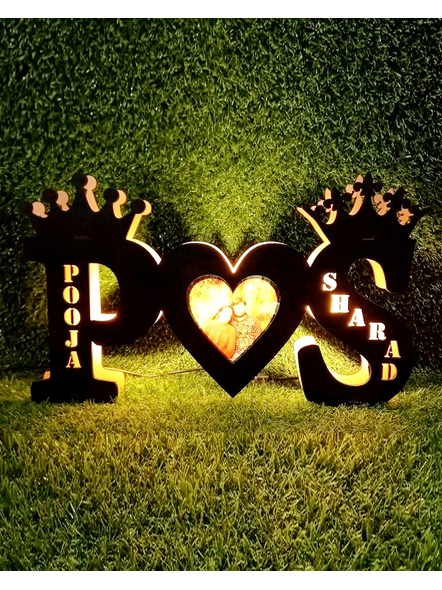 LED Initial Alphabets for Couple-Frndfrm053-12-16