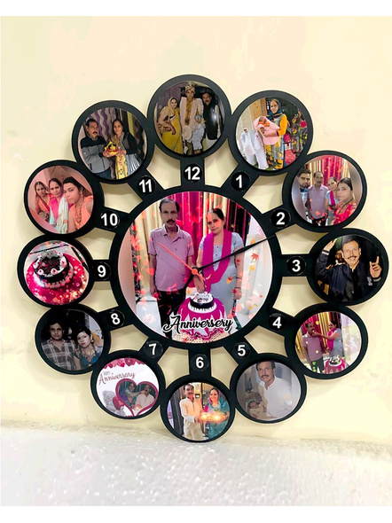 Clock Collage for Birthday 13 Photos-ptofrm030-12-12