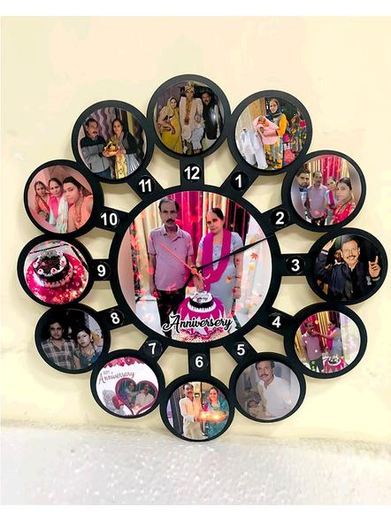Clock Collage for Rakshabandhan 13 Photos-RKSHFRM021-14-14