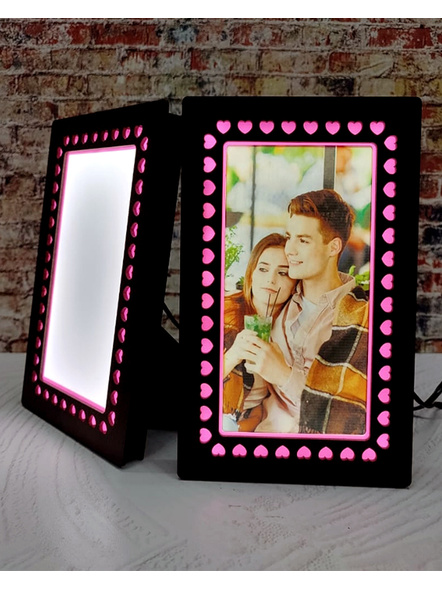 LED Photo Stand forValentine's Day-Valfrm049-6-8