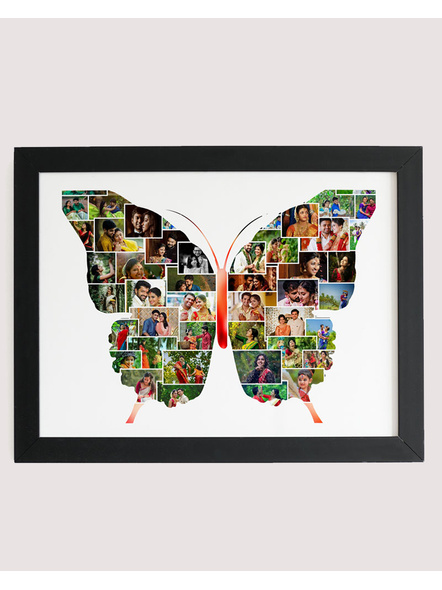 Artistic 42 Photos Special Butterfly Collage Frame-Artisticfrm010-8-12