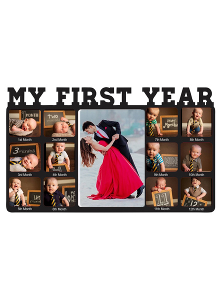 My First Year Baby Photo Collage 13 Photos Frame-ptofrm097-10-14