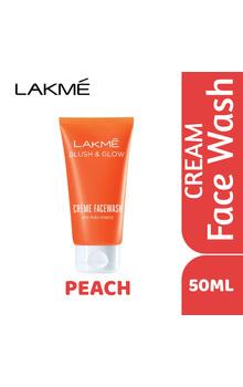 Lakme Blush & Glow Peach Cream FaceWash - 50g