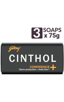 Cinthol Bathing Bar - Confidence+ Soap 7...