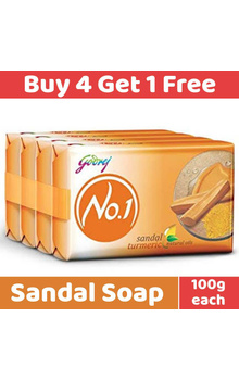 Godrej No1 Soap - Sandal Turmeric with Natura...
