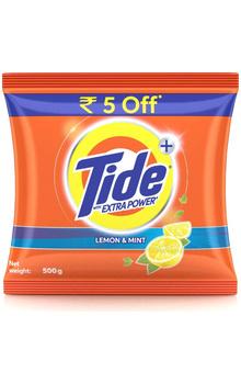 Tide Plus Lemon & Mint Detergent Powder Extra...