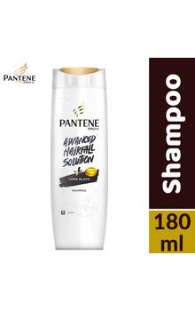 Pantene Shampoo - Long Black 180ml Bottle