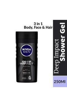 Nivea Men Shower Gel - Deep Impact Cleansing ...