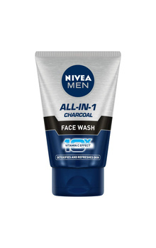 Nivea Men All-in-1 Charcoal Face Wash - 100g