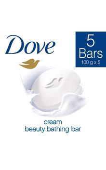 Dove Bathing Soap - Cream Beauty Set 500g (Bu...