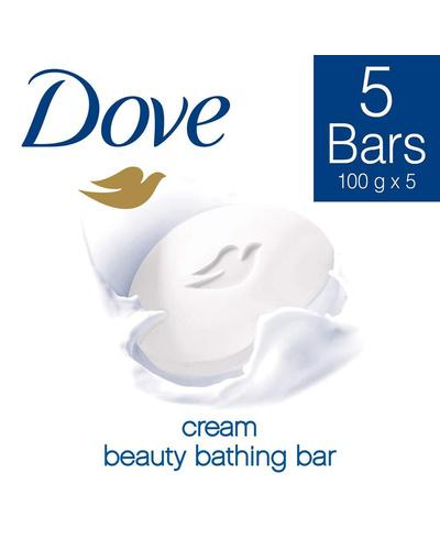 Dove Bathing Soap - Cream Beauty Set 500g (Bu...-BM1488