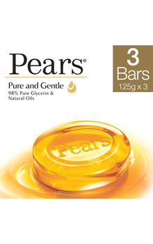 Pears Gel Bathing Bar - Pure and Gentle Soap ...