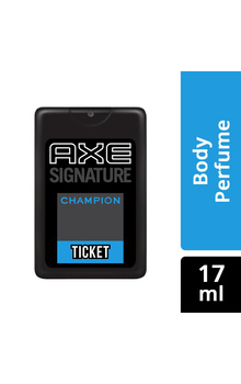 AXE Signature Ticket Pocket Perfume - CHAMPIO...