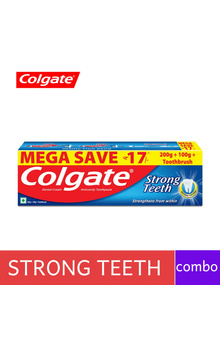 Colgate Strong Teeth ToothPaste Combo - 300g