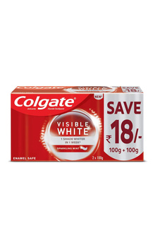 Colgate Visible White Toothpaste Combo - (2 P...