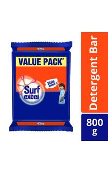 Surf Excel Detergent Bar Soap 200g(Pack of 4p...