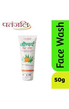 Patanjali Saundarya Face Wash - 50g