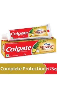 Colgate Cibaca VEDSHAKTI Toothpaste - 175g