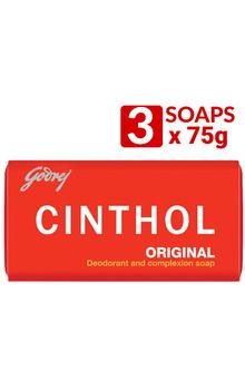 Cinthol Bathing Deo Soap - Original 75g x 3pc...