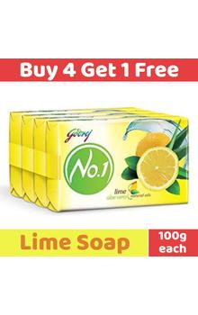 Godrej No.1 Soap - Lime Aloevera with Natural...