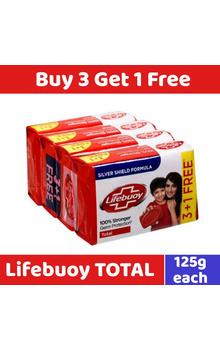 Lifebuoy Soap - Total Set 3+1pc