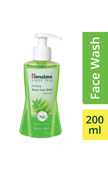 Himalaya Purifying Neem Face Wash - 200ml (Pu...