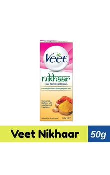 Veet Hair Removal Cream - Nikhaar All Skin Ty...