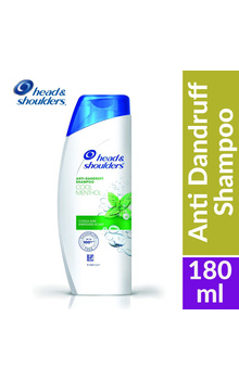Head & Shoulder Shampoo - Cool Menthol 180ml