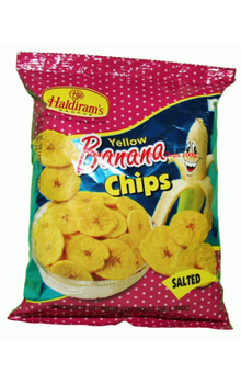 Yellow Banana Chips (Salted) 180 GM