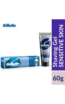 Gillette Shaving Gel - Sensitive Skin 60g