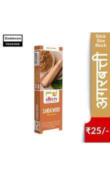 Darshan Effects Insence Sticks - Sandalwood F...