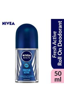 Nivea MEN Roll On Deodorant - FRESH ACTIVE OR...
