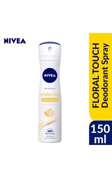 Nivea Women Whitening Body Spray - FLORAL TOU...