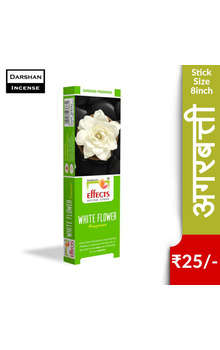 Darshan Effects Insence Sticks - White Flower...