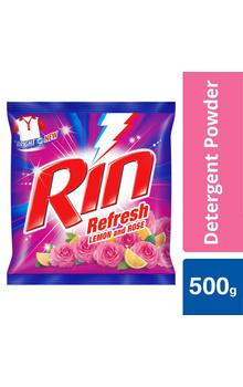 Rin Lemon & Rose Detergent Washing Powder 500...