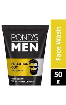 Ponds Men Pollution Out Face Wash - 50g