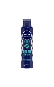 Nivea Men Body Deodorant Spray , Fresh Ocean ...