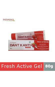 Patanjali Dant Kanti Fresh Active Red Gel - 8...