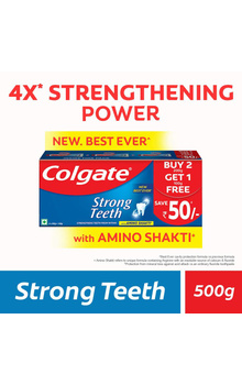 Colgate Strong Teeth ToothPaste Combo - 500g