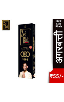 Zed Black 3in1 Premium Insence Sticks