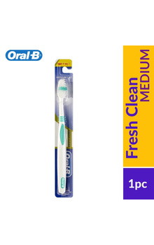Oral-B Fresh Clean Medium Toothbrush 1Pc