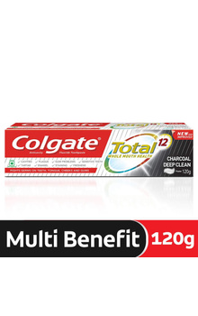 Colgate Total Charcoal Deep clean Toothpaste-...